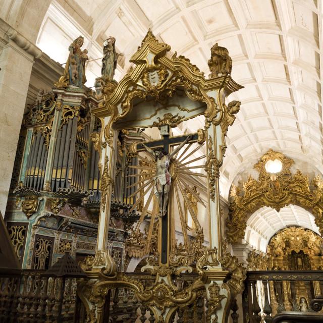 """Tibaes Monastery of Sao Martinho"" stock image"