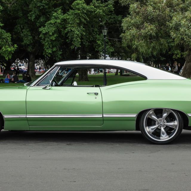 """""""1967 Impala"""" stock image"""