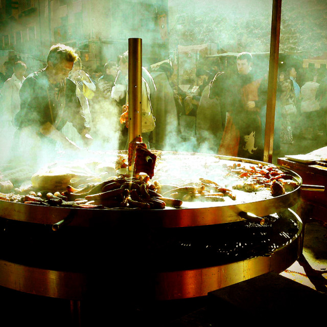 """Teruel Medieval Grill"" stock image"