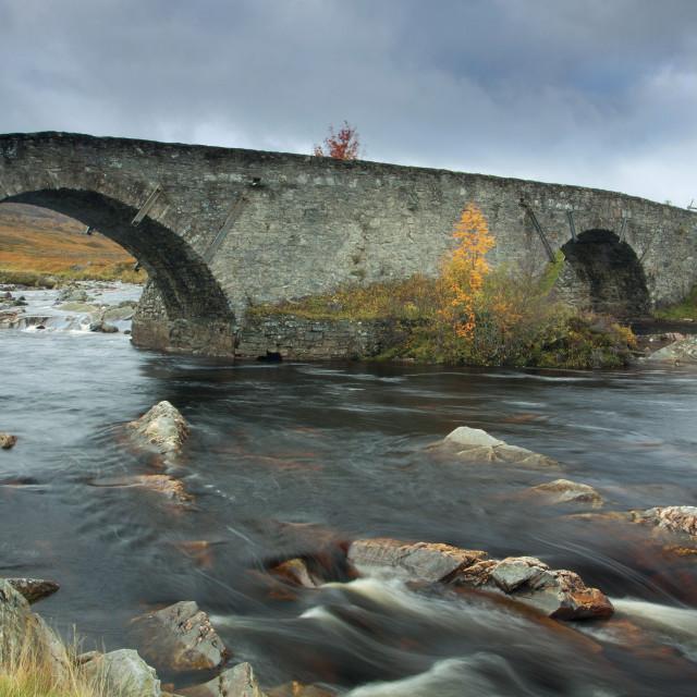 """Garva Bridge"" stock image"