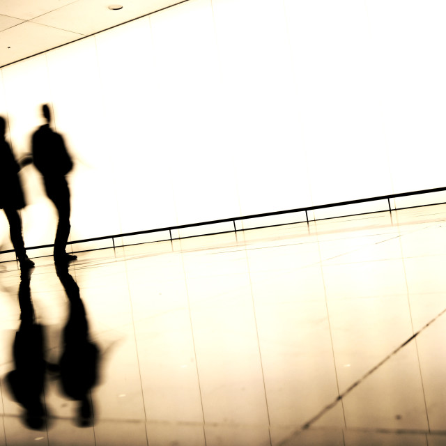 """Airport Silhouettes"" stock image"