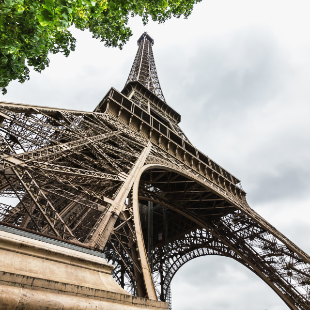 """Eiffel tower in Paris, France"" stock image"