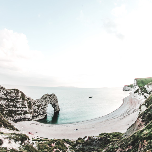 """Durdle Door / Dorset"" stock image"