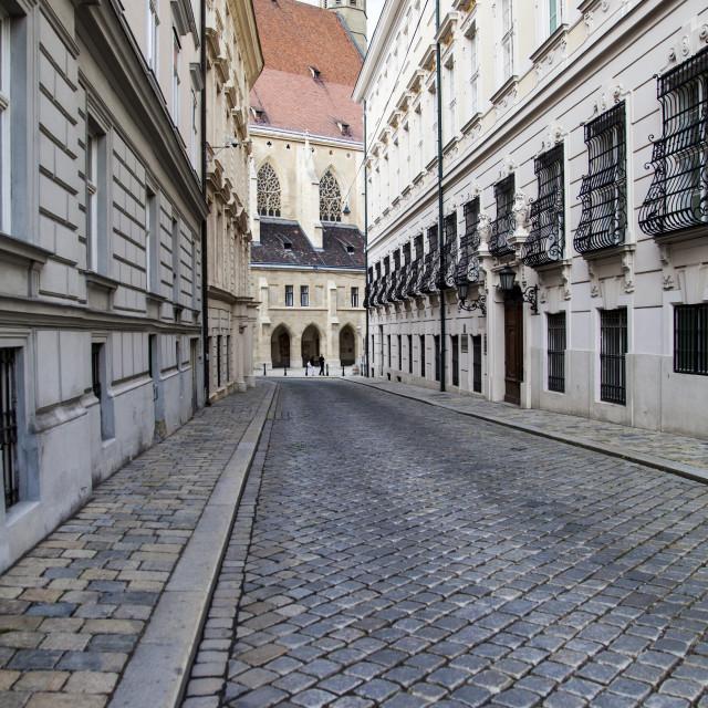 """Innere Stadt -downtown-, Vienna, Austria"" stock image"