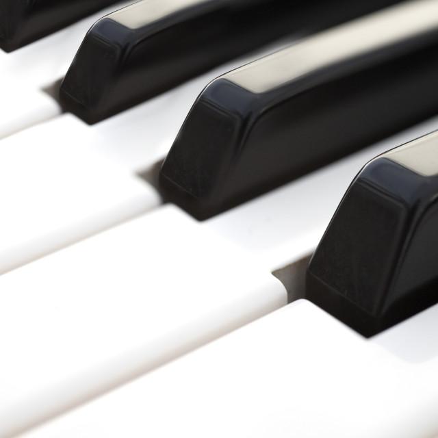"""""""piano keys"""" stock image"""