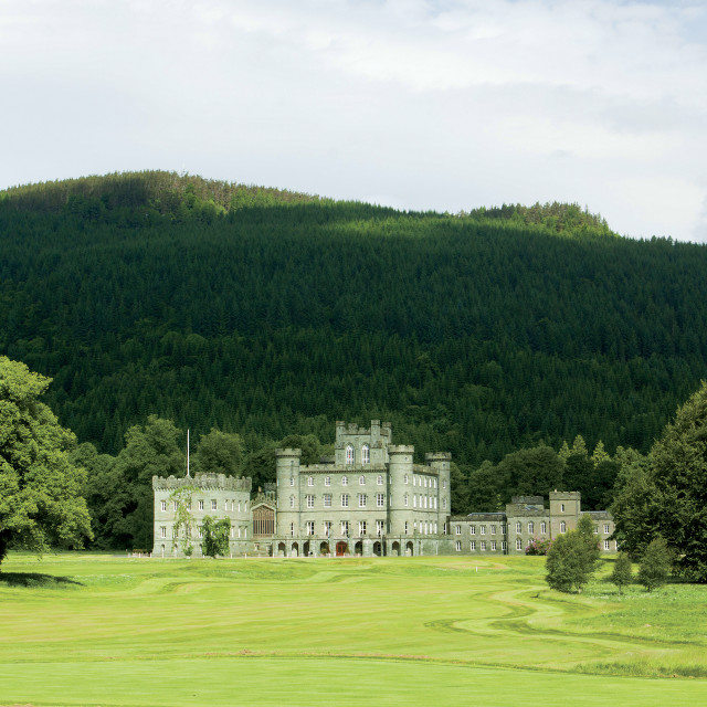 """Taymouth Castle"" stock image"