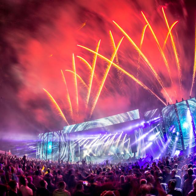 """Creamfields 2015"" stock image"