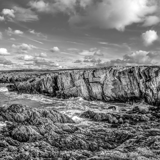 """Holyhead Breakwater country park"" stock image"