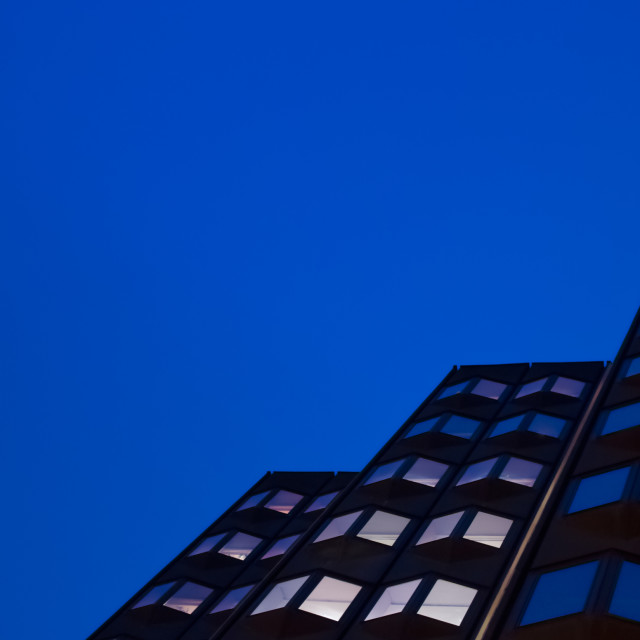 """Blue sky blue windows"" stock image"