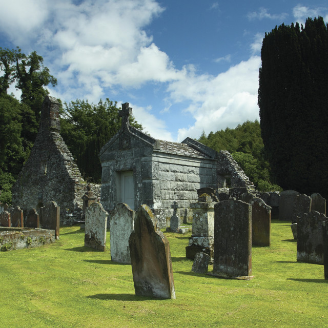 """""""Anwoth Kirk"""" stock image"""