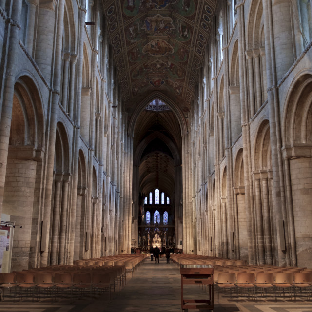 """Empty Cathedral"" stock image"