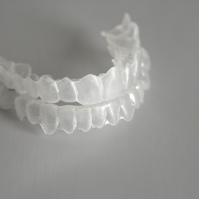 """""""Invisible dental orthodontic"""" stock image"""