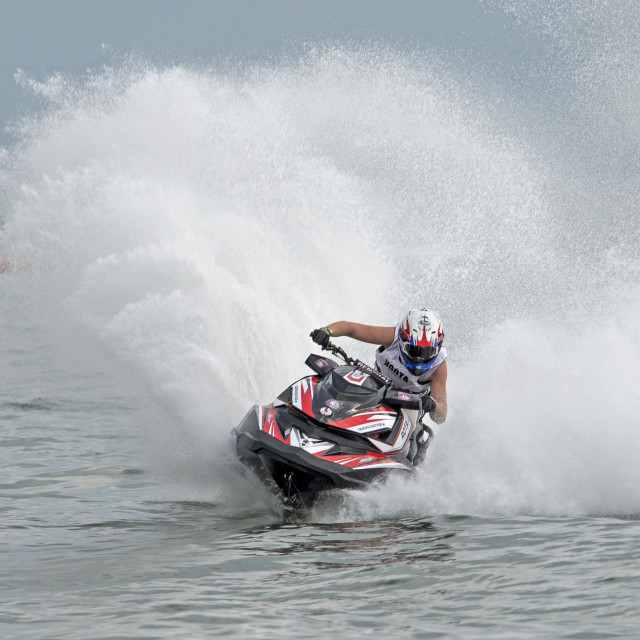 """Jet Ski World Cup December 2015 Thailand"" stock image"
