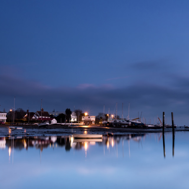 """Mersea island Waterfront"" stock image"