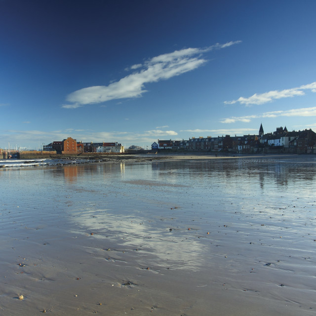 """North Berwick West Sands"" stock image"