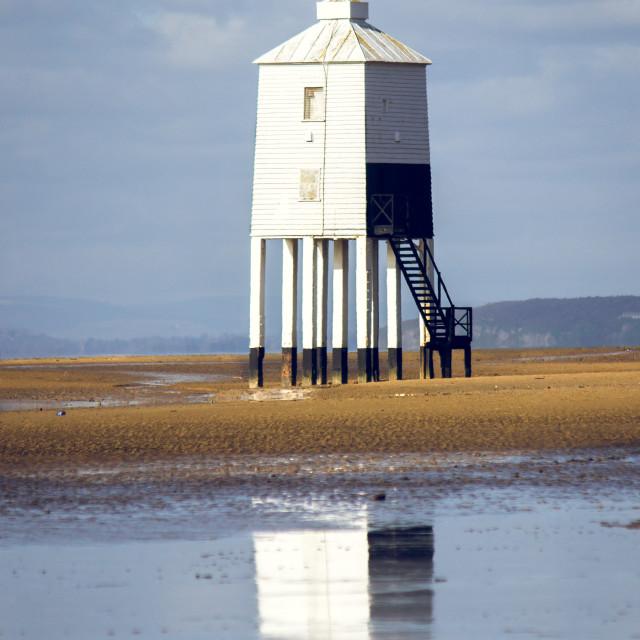 """Lighthouse on Legs"" stock image"