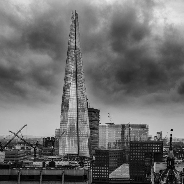 """The Shard"" stock image"