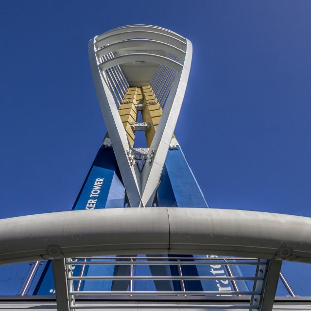 """Emirates Spinnaker Tower"" stock image"