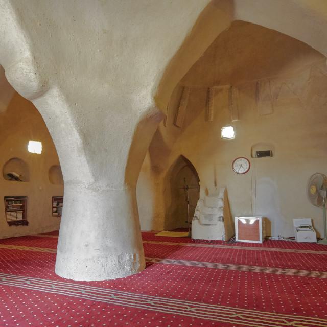 """""""Al Bidyah (Badiyah) mosque, Fujeirah"""" stock image"""