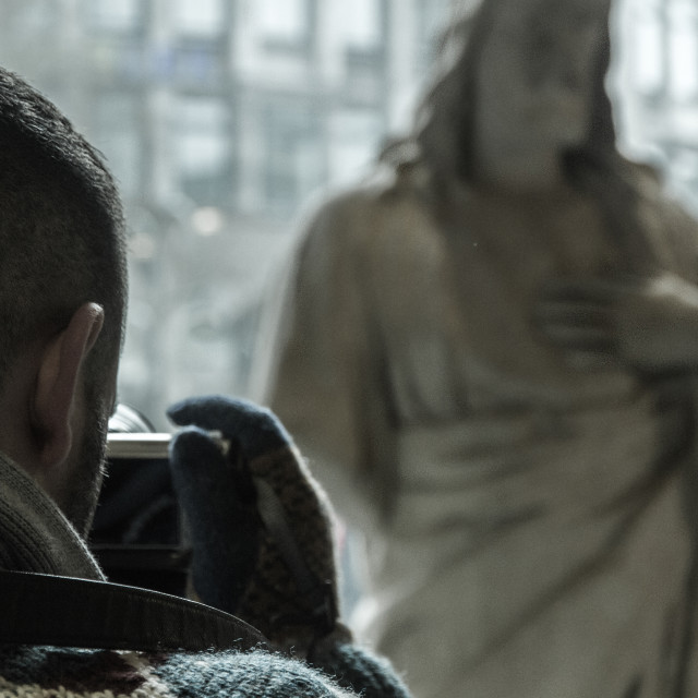 """Jesus Christ Statue"" stock image"