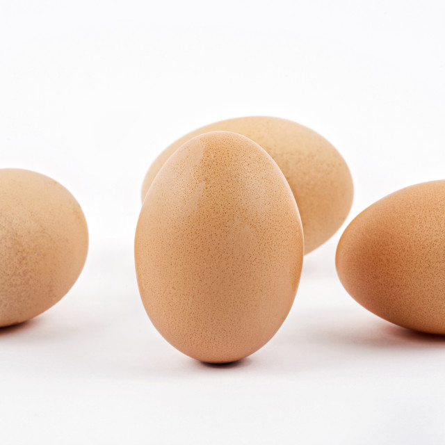 """Chicken eggs"" stock image"