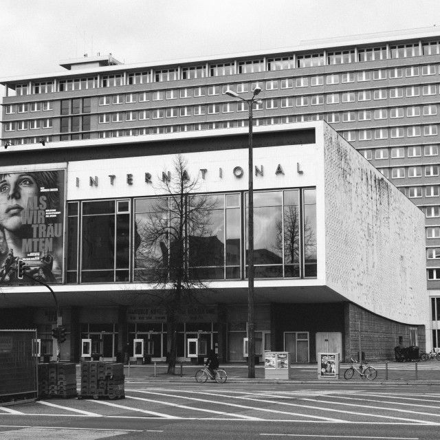 """Kino International Cinema Berlin"" stock image"