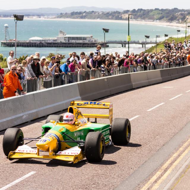 """Benetton F1 B192"" stock image"
