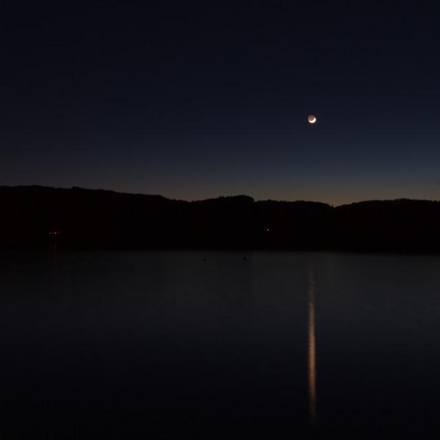 """Nightscape"" stock image"