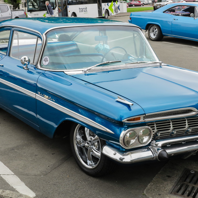 """1959 Chevrolet BelAir"" stock image"