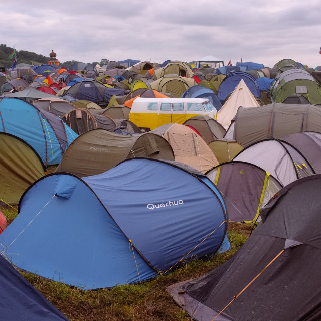 """Tents at a festival"" stock image"