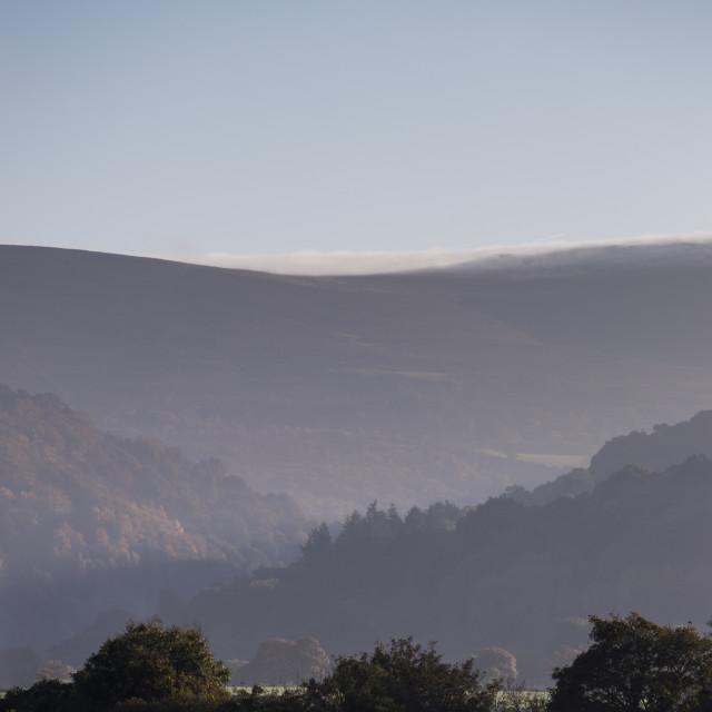 """View to Exmoor"" stock image"