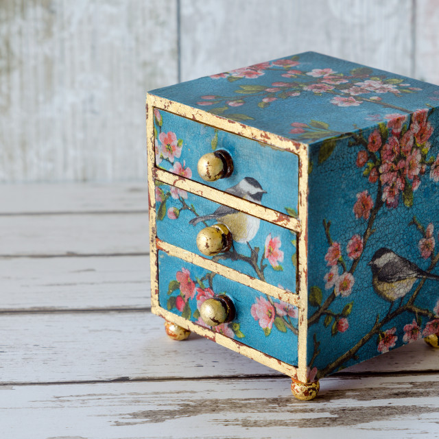 """Mini Chest of Drawers"" stock image"