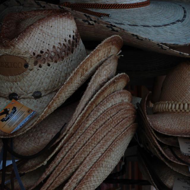 """""""Sombreros"""" stock image"""