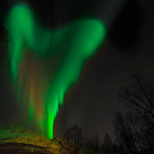 """Aurora heart"" stock image"