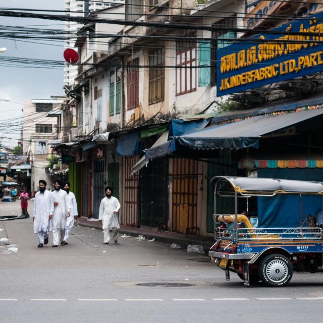 """""""Bangkok street"""" stock image"""