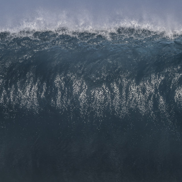 """Big Wall of Water"" stock image"