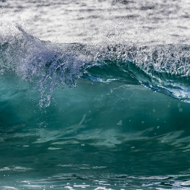 """Emerald Wave"" stock image"