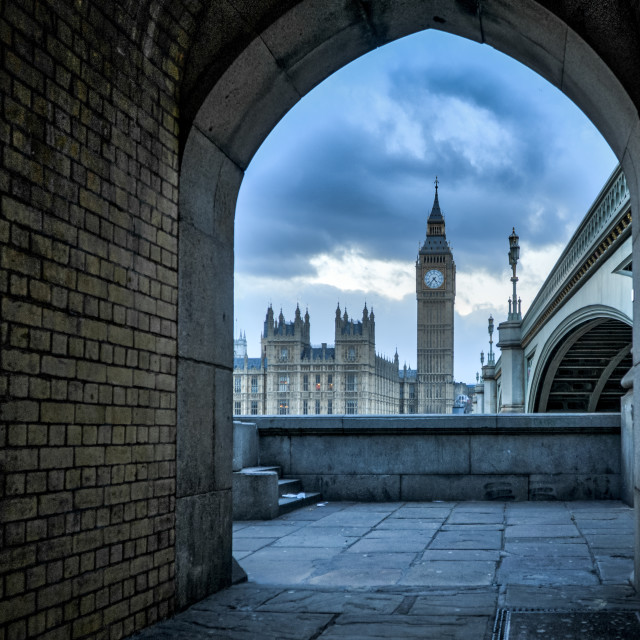 """Houses Of Parliament (Big Ben)"" stock image"