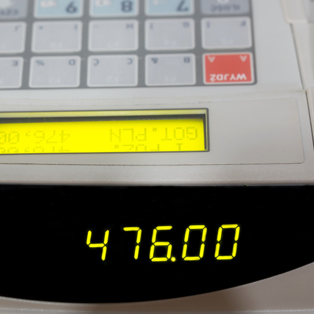 """Cash register"" stock image"