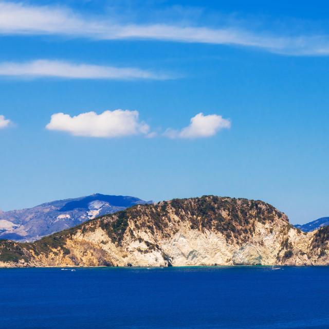 """""""Marathonisi islet near Zakynthos, Greece"""" stock image"""