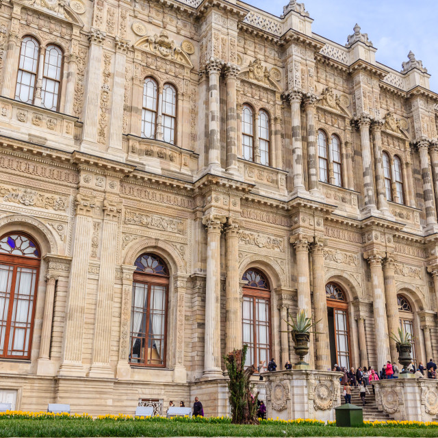 """Dolmabahce palace Istanbul"" stock image"