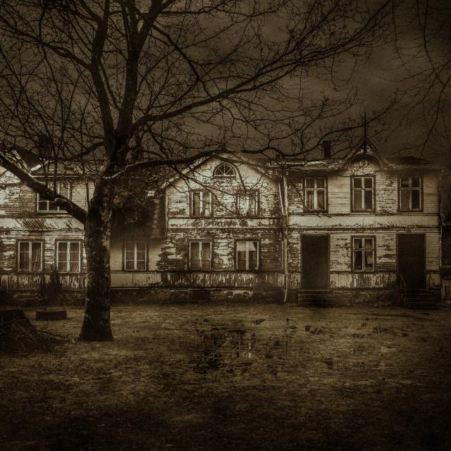 """""""Abandoned House"""" stock image"""