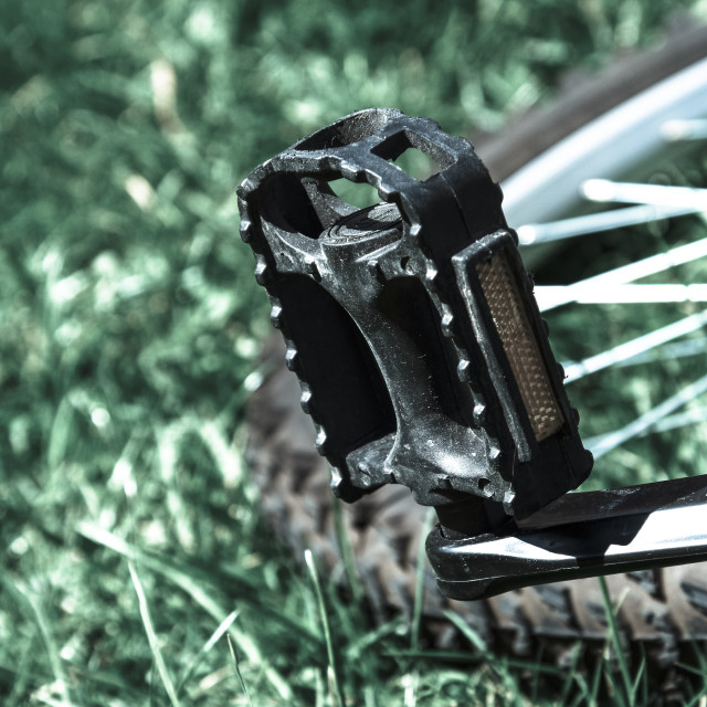 """Bicycle pedal"" stock image"