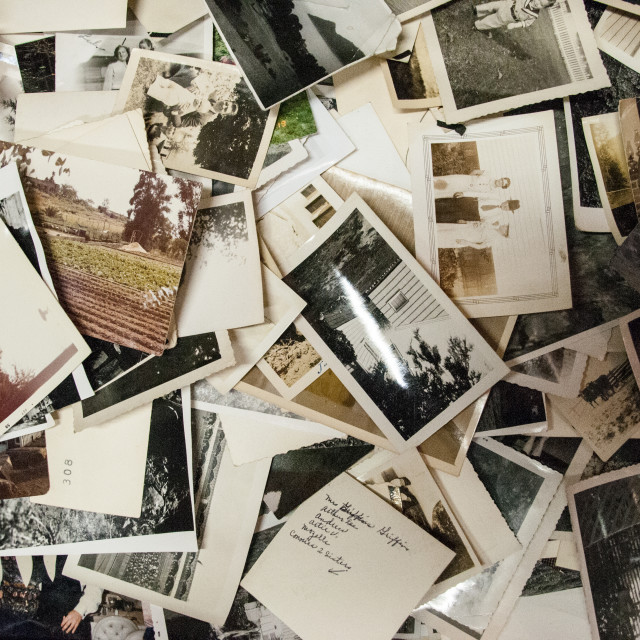 """""""Old photographs"""" stock image"""