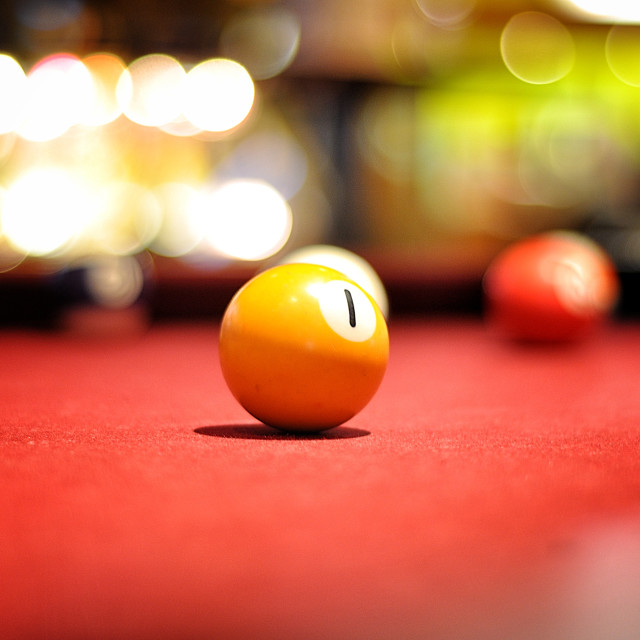 """Pool bokeh"" stock image"