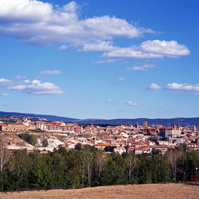 """""""View of Teruel, Aragon, Spain"""" stock image"""