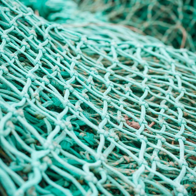 """fishing nets"" stock image"