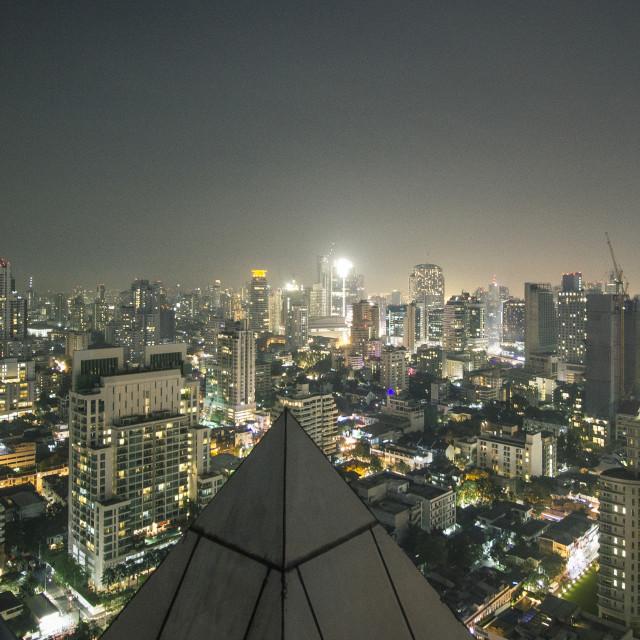 """""""Bangkok Rooftops"""" stock image"""