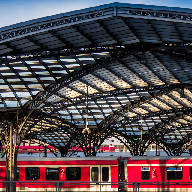 """Cologne Station"" stock image"