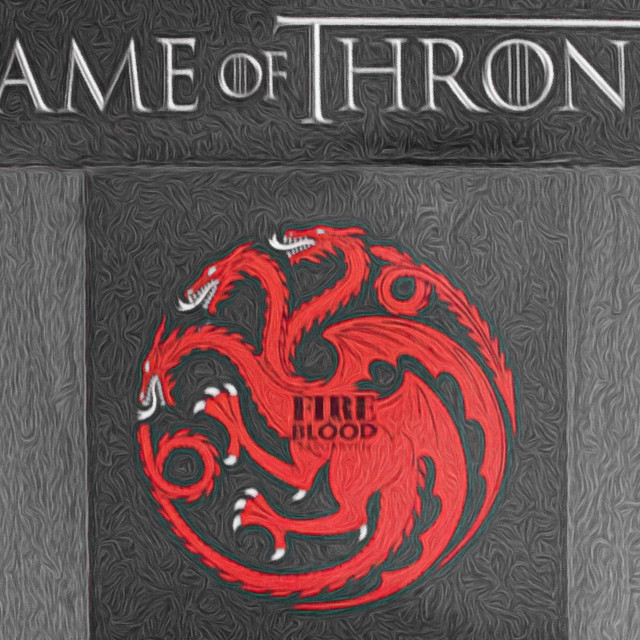 """""""Fire and Blood"""" stock image"""